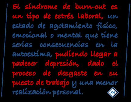 Síndrome burn-out